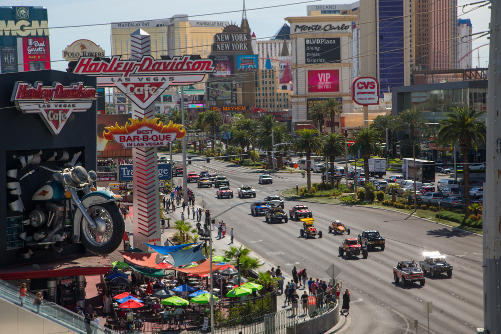 In 2017 The Mint 400 Will Kick Off Its Events Las Vegas On Wednesday March 1st With Annual Vehicle Procession Down Strip