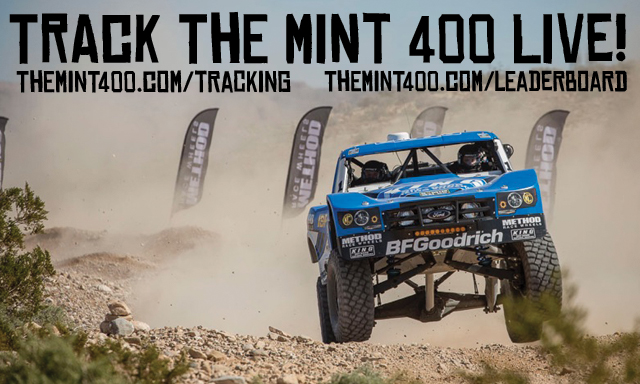 The Mint 400 Announced It Will Have Free Live Tracking And A Newly Designed Leaderboard For Race Day Of 2017 Polaris Rzr Presented By
