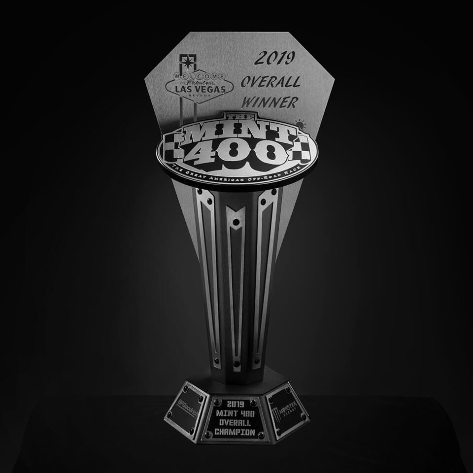 Assault Industries To Create The Ultimate Mint 400 Trophy